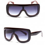 Niceskin Retro Women's Sunglasses Big Style, Plastic and Resin