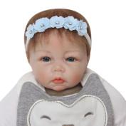 TRENDINAO Lovely Flower Elastics Headband Hair HeadBand For Newborns Babys