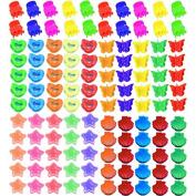 100pcs Sc0nni Bangs Mini Kawaii Hair Clip,Hair Pin For Children Random Coloured (5 styles)
