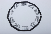 Royalty Hair Whole Hair Wig Clips One Bag Wig Combs Convenient for Your Wig Caps Colour Black Pack of 50