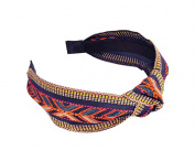 Knot Headband Embroidery Cloth Art Sweet National Head Decoration