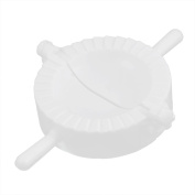 sourcingmap® Chinese DIY Wonton Dumpling Pastry Pie Mould Maker 68mm Dia White