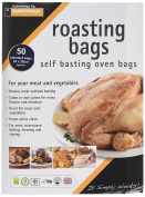 Toastabags Standard Roasting Bags, Transparent, 25 x 38 cm, Pack of 50