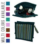 Essential Oils and Co. Small Essential Oil Bag - Protects 5ml, 15ml, & 10ml Oils (10ml Roller Bottles, 10ml Rollers, 10ml Roller Balls) Small Essential Oil Case
