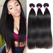 ALI BFF Hair Brazilian Virgin Hair Straight 8A Mink Brazilian Straight Hair Extension Human Hair Weave Bundles Wholesales 12 14 41cm