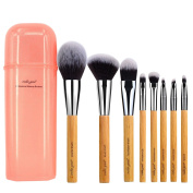 vela.yue Makeup Brush Set Synthetic Face Cheek Eyes Lips Makeup Beauty Tools Kit with Gift
