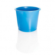 Deflecto 14 Litre Plastic Waste Bin - Blue