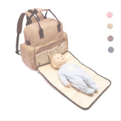 Nappy Bag Backpack With Nappy Changing Pad Multi-Function Waterproof Travel Backpack Nappy Bags for Baby Care