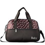 Youth Fashion Mommy Bag Messenger Maternity Bag, Insular