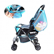 Baby Stroller Organiser Hanging Mesh Side Nappy Bags Pushchairs Pram Basket Toys Nappy Cargo Net Mesh Storage Bags Nappy Bags Stroller Accessories Perfect Baby Shower Gift
