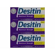 Desitin Maximum Strength Paste, 3 ct.120ml
