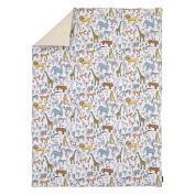 DwellStudio Safari Animal Print Comforter, Grey/Yellow/Orange