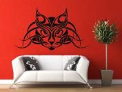 Wall Vinyl Sticker Decals Mural Room Design Pattern Art Cat Kitty Animal Pet Ornament mi603