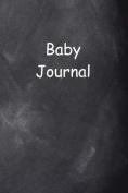 Baby Journal Chalkboard Design