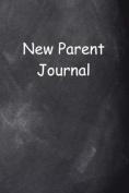 New Parent Journal Chalkboard Design