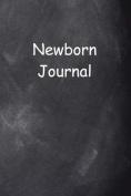 Newborn Journal Chalkboard Design