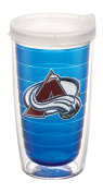 """Tervis 2688610cm NHL Colorado Avalanche"""" Tumbler with Clear Lid, 470ml, Sapphire"""