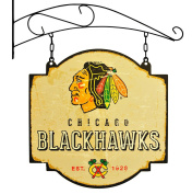 NHL Chicago Blackhawks Men's Tavern Sign, Small, Multicolor