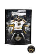 Tim Thomas Autographed/Signed NHL Hockey Puck & 8x10 Photo Curved Display - LE