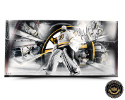 "Tim Thomas Autographed/Signed Playoff Run Panoramic Collage with ""2011 SC Champs"" Inscription - LE"