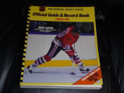 1988 1989 NHL HOCKEY GUIDE AND RECORD BOOK DENIS SAVARD BLACK HAWKS COVER