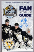 Penguins -- Sidney Crosby Signed 2011 Winter Classic Game Fan Events - JSA Certified - NHL Autographed Miscellaneous Items