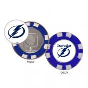 Tampa Bay Lightning Poker Chip Golf Ball Marker