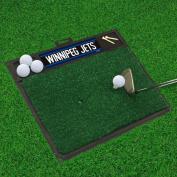 Fan Mats 17014 NHL - Winnipeg Jets 50cm x 43cm Golf Hitting Mat