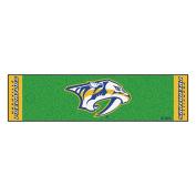 FANMATS 15576 Team Colour 46cm x 180cm NHL - Nashville Predators Putting Green Mat