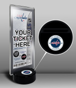 NHL Washington Capitals My First Game Hockey Puck Ticket Stand, One Size, Multicoloured