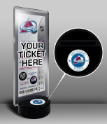 NHL Colorado Avalanche My First Game Hockey Puck Ticket Stand, One Size, Multicoloured