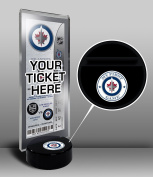 NHL Winnipeg Jets My First Game Hockey Puck Ticket Stand, One Size, Multicoloured