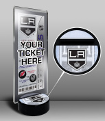 NHL Los Angeles Kings Hockey Puck Ticket Display Stand, One Size, Multicoloured