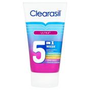 Clearasil 5-in-1 Ultra Wash 150 ml
