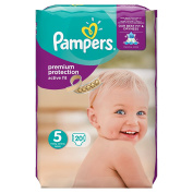 Pampers Premium Protection Active Fit Carry Pack - Size 5, 20 Nappies