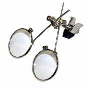 Jewellery double eye loupe clip on magnifier UmbrellaLaboratory