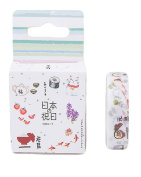 Oil Paint Tape Masking Sticker Scrapbook Deco Adhesive Sticky Paper Tape Gift Wrap Box Set