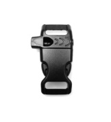 eXtremePara.com - 1.3cm Side Release Curved Whistle Buckle - Great for Paracord Bracelets. Used for Emergencies
