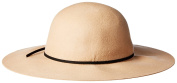 San Diego Hat Company Women's Floppy with Round Crown and Faux Suede Band