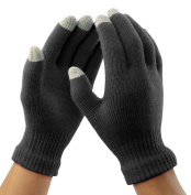 DD.UP Touch Screen Gloves for Phone Warm Thick knit Mittens Outdoor Ski Winter Gloves