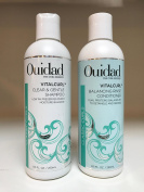 Ouidad VitalCurl Clear & Gentle Shampoo & Conditioner 8.5 OZ / 250 ML DUO SET