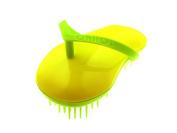 Sohyo Flip Flop Green Sun Detangler Brush for Wavy Thick Fine Dry Wet Hair