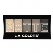 (3 Pack) L.A. Colours Matte Eyeshadow Nude Suede