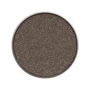 Zuzu Luxe Natural Eye Shadow Pro Palette Refill Pan Pulse - Industrial Grey with Silver Flecks/Satin