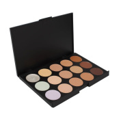 FantasyDay Pro 15 Colours Cream Concealer Camouflage Makeup Palette Contouring Kit #1 - Ideal for Professional and Daily Use