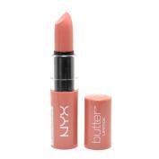 1 NYX BLS BUTTER LIPSTICK BLS16 FUN SIZE / Brown Pink Lip Stick + FREE EARRING