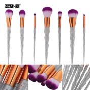 MAANG 7pcs Makeup Brush Set tools Make-up Toiletry Kit Wool Make Up Brush Set