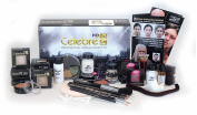 Mehron Celebré Professional HD Cream Makeup Kit |Complete Makeup Artist Beauty Set for Theatre, Stage, Movies, Special Effects, Videos, Photography|Skin, Eyes & Hair Contouring