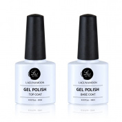 Peel off Gel Nail Polish Base Coat&Top Coat By Lagunamoon