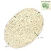 MINEJ - Natural Loofah Luffa Sponge Pad Body Skin Exfoliation Scrubber Bath Shower Brush